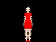 Sharry (Red Dress) Happy