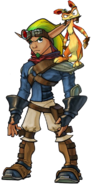 Jak II with Daxter copy