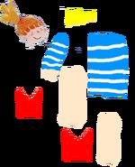 Claire Body Parts
