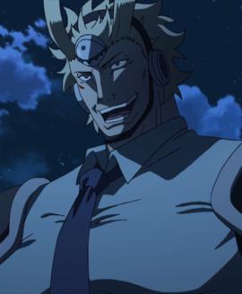 Zank smiling at Akame