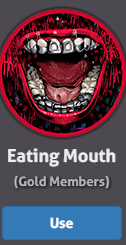 Eating mouth