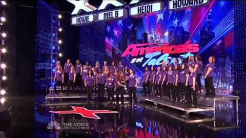 American Military Spouses Choir - America's Got Talent 2013 Season 8 Week 3 Auditions