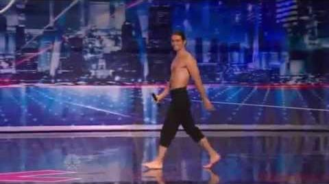 Max the Acrobat - America's Got Talent 2012 New York Auditions