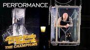Spencer Horsman Attempts His MOST DANGEROUS Escape Yet! - America's Got Talent The Champions