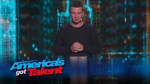 Mat Franco- AGT Season 9 Winner Makes a Magical Return - America's Got Talent 2015