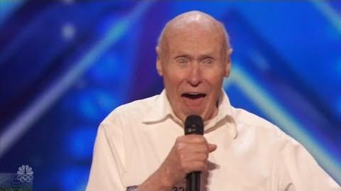 America's Got Talent 2016 John Hetlinger 82 Y.O