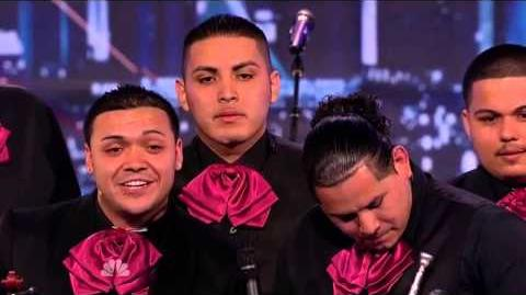 America's Got Talent 2013 Season 8 Week 2 Auditions - Mariachi Nuevo Estillo AVM