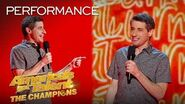 OMG! Does This Comedian ESCAPE The Judges' Buzzers?! - America's Got Talent The Champions