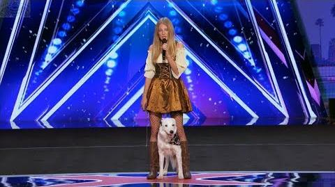 America's Got Talent 2017 Sara Carson & Hero Just the Intro S12E05