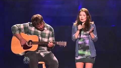 Eric and Olivia - Vegas Round - America's Got Talent 2012
