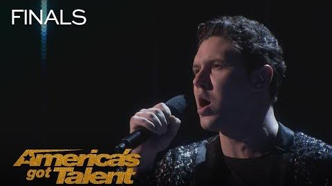 "Daniel Emmet Opera Singer Delivers ""Perfect Symphony"" By Ed Sheeran - America's Got Talent 2018"