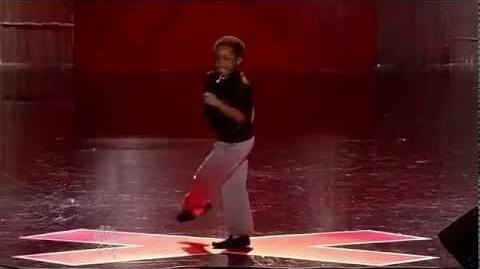 Isaac Brown - Vegas Round - America's Got Talent 2012