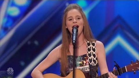 America's Got Talent 2016 Kadie Lynn Roberson 12 Y.O