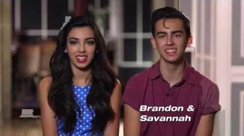 Brandon and Savannah - America's Got Talent 2013 Season 8 - Vegas Week