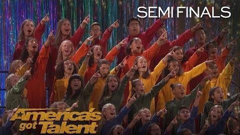 "Voices of Hope Children's Choir Children Sing ""Defying Gravity"" - America's Got Talent 2018-0"