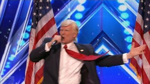 America's Got Talent 2017 Donald Trump Wins Again Full Audition S12E01