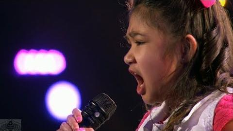 America's Got Talent 2017 Angelica Hale Intro & Performance Judge Cuts S12E08