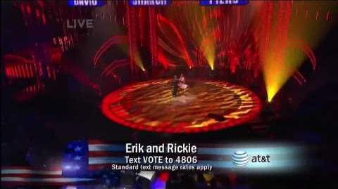 Erik and Rickie 4th Quarter Final America's Got Talent 2009 HD www.nancylanda