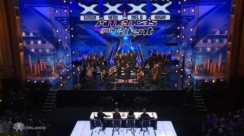 Americas Got Talent 2016 Amazing Orchestral Choir Full Audition Clip TonyPatrony