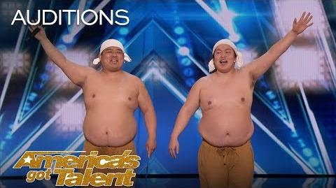 Yumbo Dump Comedic Duo Makes Unbelievable Sounds With Their Bodies - America's Got Talent 2018