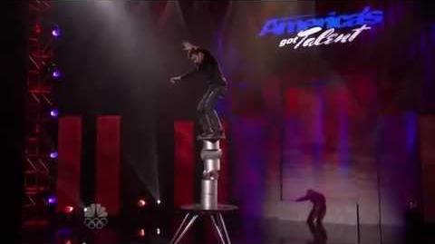 Cristin Sandu - Vegas Round - America's Got Talent 2012