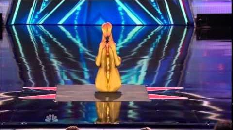 America's Got Talent 2014 Nina Burri Auditions 5