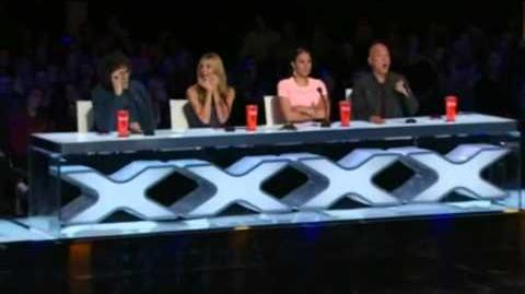 America's Got Talent 2015 Ichabod Wainwright Auditions 1