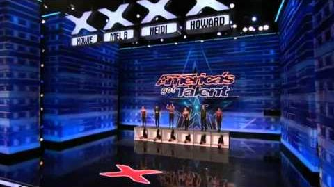 America's Got Talent Evoke Tap Movement Auditions 5