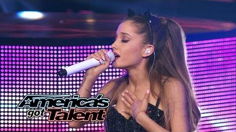 "Ariana Grande Chart-Topping Singer Performs ""Break Free""- America's Got Talent 2014"