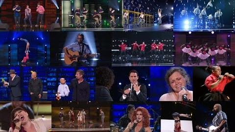 America's Got Talent 2015 S10E10 Judge Cuts - Round 3 Winners Moving on the The Semis