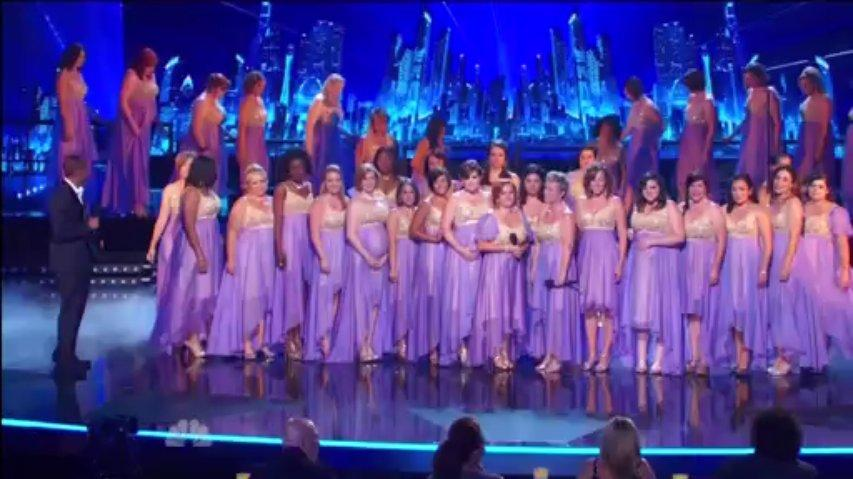 American Military Spouses Choir, 2nd Semi-Final ~ Agt 2013 Live