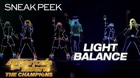 LEAK Light Balance Makes EPIC Return With LIT Dance - America's Got Talent The Champions