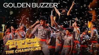 Golden Buzzer Howie Mandel Sends V.Unbeatable To The Finals! - America's Got Talent The Champions