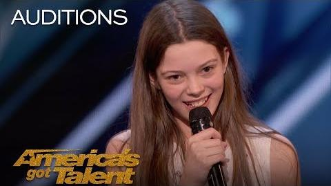 Courtney Hadwin 13-Year-Old Golden Buzzer Winning Performance - America's Got Talent 2018