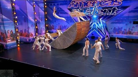 America's Got Talent 2017 Diavolo Spectacular Innovative Acrobatic Group Full Audition S12E02