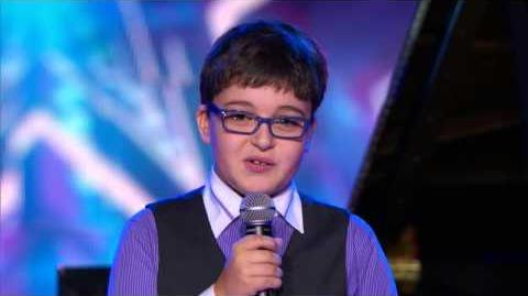 America's Got Talent S09E09 Semi-Final Kids Variety Acts Adrian Romoff