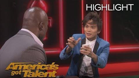 Shin Lim Blows Minds With Unbelievable Card Magic - America's Got Talent 2018