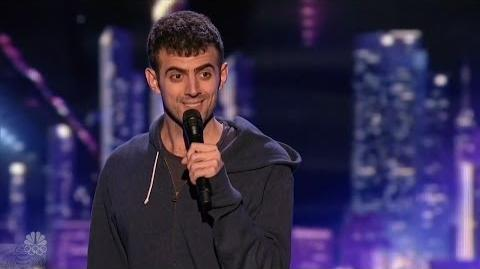 America's Got Talent 2016 Stand-up Comic Sam Morril Full Judge Cuts Clips S11E10