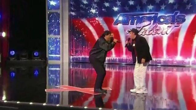 Tony & Gino Antanies 49, 72 ~ America's Got Talent 2010, auditions NY Day1