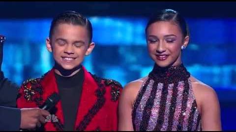 D'Angelo and Amanda - America's Got Talent 2013 Season 8 - Radio City Music Hall FULL