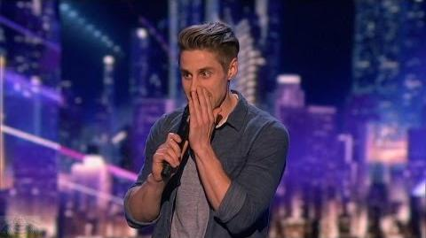 America's Got Talent 2016 Adam Grabowski Comic Bomb Makes You Cringe Full Judge Cuts Clip S11E09