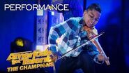 "Tyler Butler-Figueroa Performs ""The Git Up"" by Blanco Brown! - America's Got Talent The Champions"