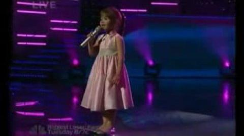 Kaitlyn Maher 4yo - Beauty and the Beast - AGT Top 20