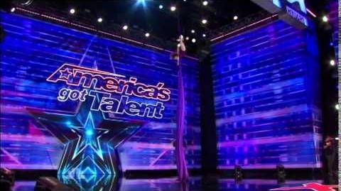 America's Got Talent 2014 Laura Dasi Auditions 4