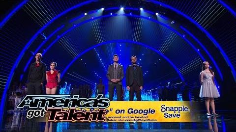 Snapple Save Voting Instructions – America's Got Talent 2014