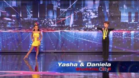Yasha and Daniela - America's Got Talent 2013 Season 8 Week 6 Auditions