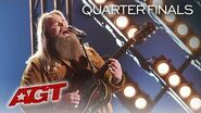 """Chris Kläfford ROCKS The Stage With Heartfelt Song, """"Cold at the Altar"""" - America's Got Talent 2019"""