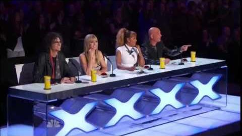 America's Got Talent 2014 Baila Conmigo Auditions 4
