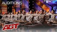 WOW! You'll Get A KICK Out Of This Amazing Dance Group! - America's Got Talent 2019