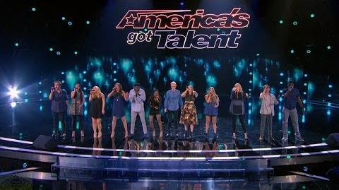 America's Got Talent 2016 One Voice Acapella Group Quick Full Judge Cuts Clip S11E09